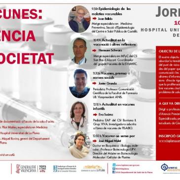LA IMPORTÀNCIA DE VACUNAR SENSE POR. Doctora Eva Suarez. Pediatra EAP del Centre de Salut II de Borriana